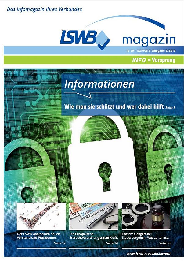 LSWB-Magazin 3/2015: Informationssicherheit