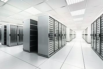 Beispiel eines modernen Rechenzentrums