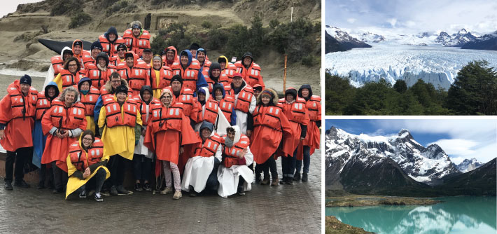 """""""Wenn einer eine Reise tut"""": Knapp 40 Teilnehmer konnten auf der diesjährigen Exkursion nach Südamerika faszinierende  Eindrücke sammeln."""
