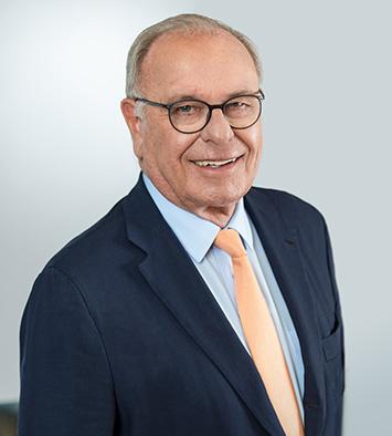 Prof. Randolf Rodenstock,  Vorstandsvorsitzender des RHI; Foto: RHI