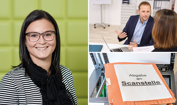 Katrin Schmitt, Auszubildende zur Steuerfachangestellten