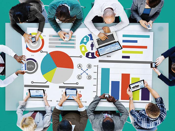 Informationswirtschaft (Symbolbild): Jedes Unternehmen besitzt einen riesigen Pool an Informationen – doch wie schützt man diesen Schatz?