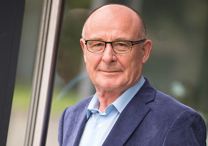 LSWB-Präsident Manfred F. Klar