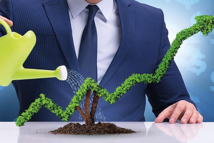 Eine gute Umweltbilanz zahlt sich nicht nur für die Datev aus.