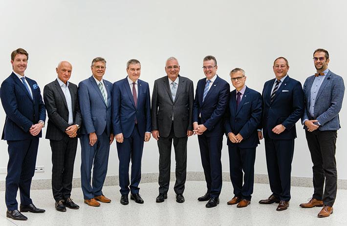 Das neue Präsidium der Bundessteuerberaterkammer