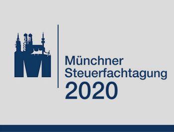 59. Münchner Steuerfachtagung am 25./26. März 2020