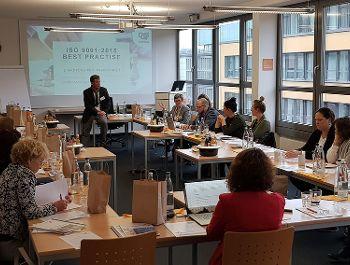 Zertifizierung EVI-Treffen in Frankfurt