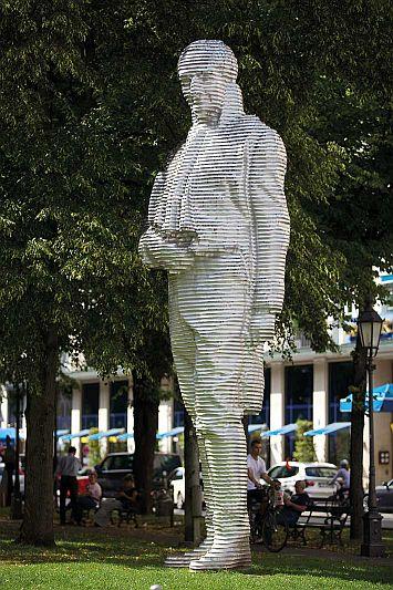 Montgelas-Denkmal am Münchner Promenadenplatz: Mit dem Bezug auf den Staatsreformer stellt das E-Government-Gesetz einen hohen Anspruch an sich selbst.