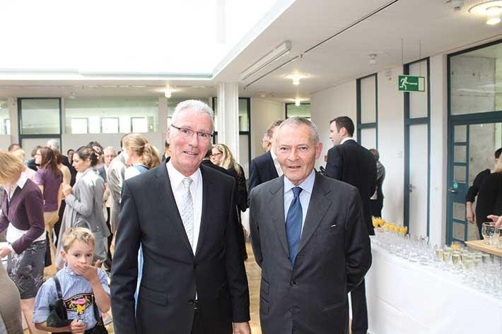 LSWB-Ehrenpräsident Peter Küffner (li.) mit Hermann-Ulrich Viskorf
