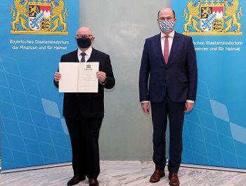 Volker Freund wird neuer Präsident des Landesamts für Steuern