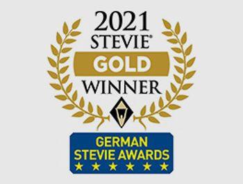 Goldener German Stevie Award für  Addison OneClick-Lösung