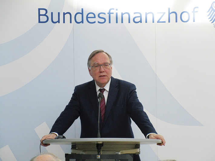 BFH-Präsident Rudolf Mellinghoff