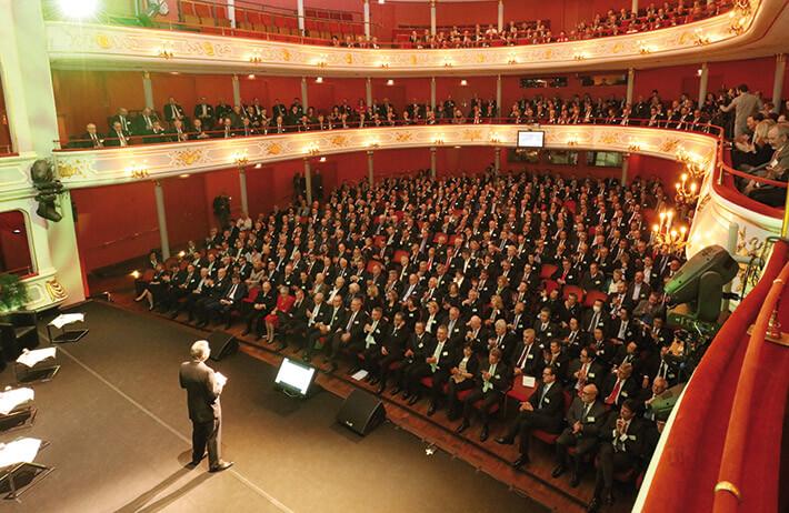 50 Jahre Datev: Die Nürnberger Genossenschaft feiert