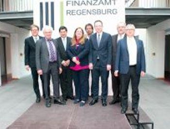 Erfahrungsaustausch mit dem Finanzamt Regensburg