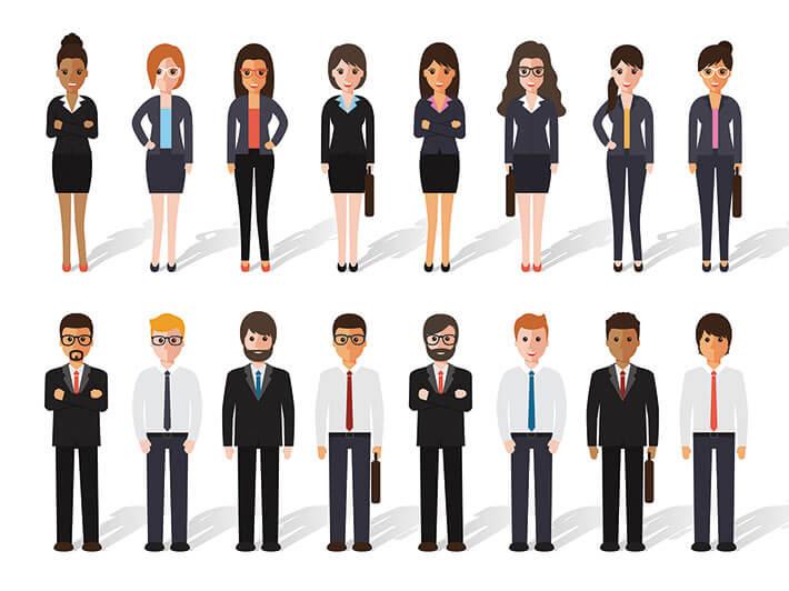 """Der wichtigste Schatz eines Unternehmens sind seine Mitarbeiter – dem trägt """"unternehmenswert: Mensch"""" Rechnung."""