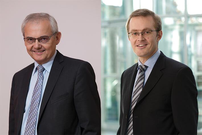 Karl Bergbauer (li.) und Prof. Dr. Winfried Schwarzmann