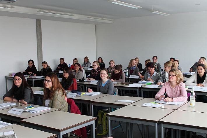Die Teilnehmer des Vorbereitungskurses