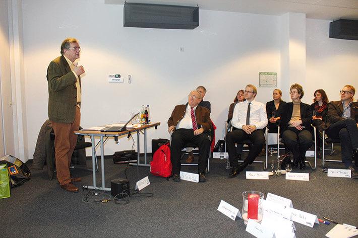 Klaus Richter beim LSWB-Club-Abend (Archivfoto).